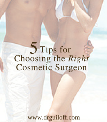 5 Tips for Choosing the Right Cosmetic Surgeon